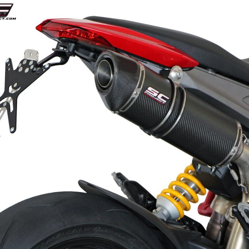 SC Project Exhaust Ducati Hypermotard 821 Tail Tidy License Plate Holder