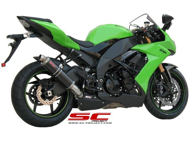 SC Project Exhaust Kawasaki Ninja ZX-10R GP M2 Silencer 2008-2010