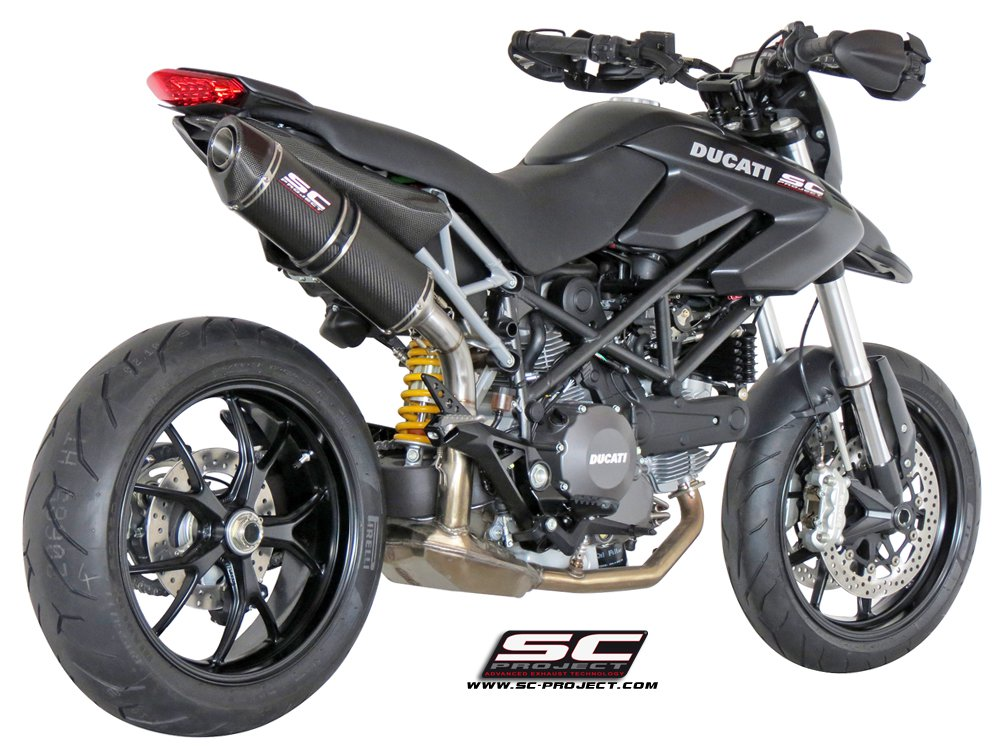 sc project exhaust ducati hypermotard 796 oval silencer. Black Bedroom Furniture Sets. Home Design Ideas