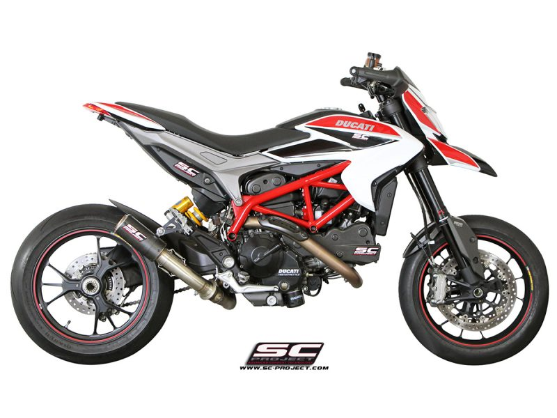SC Project Exhaust Ducati Hypermotard 821 CR-T Silencer 2013-16