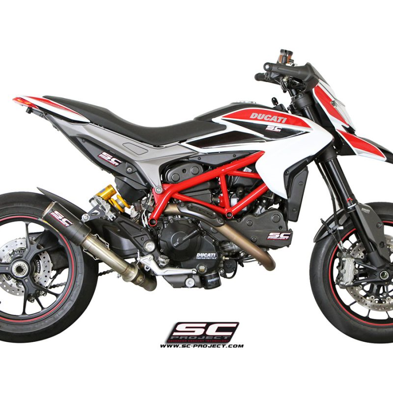 SC Project Exhaust Ducati Hypermotard 821 CR-T Silencer 2013-16