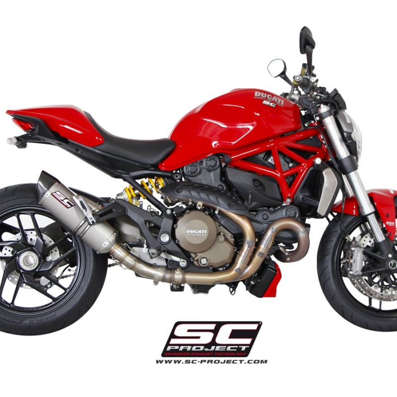 SC Project Exhaust Ducati Monster 1200 / S Oval Silencer 2014-2016