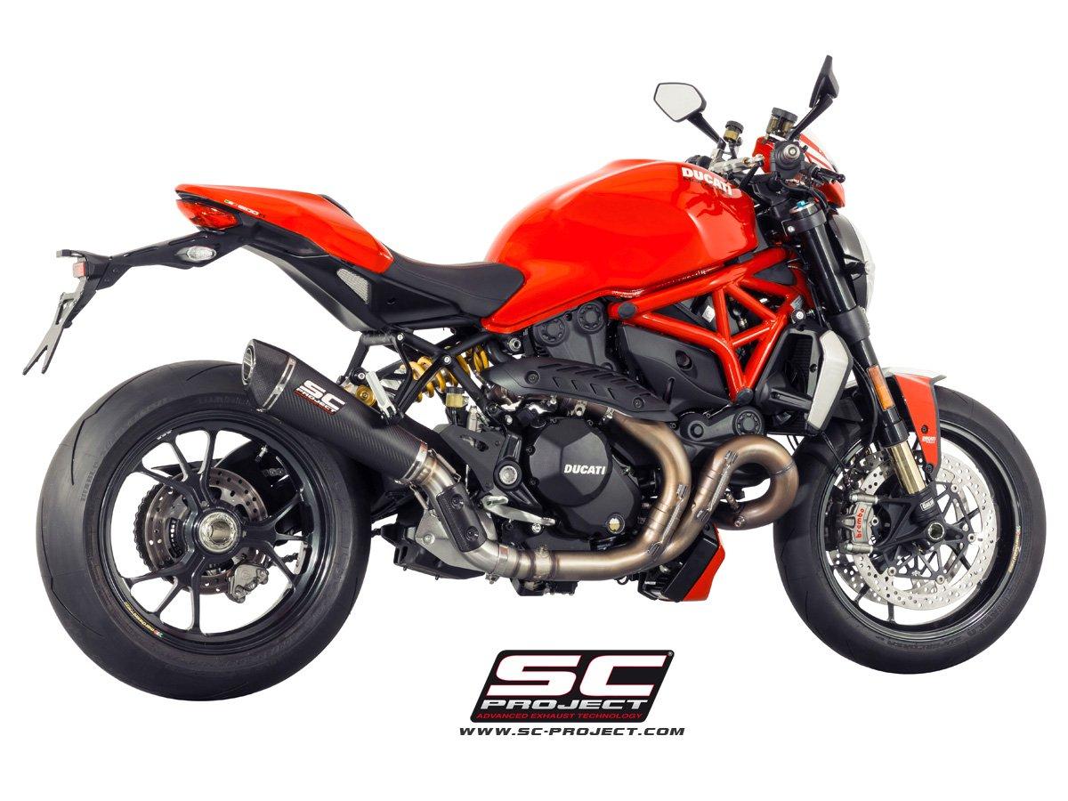 Ducati Monster Exhaust Sound