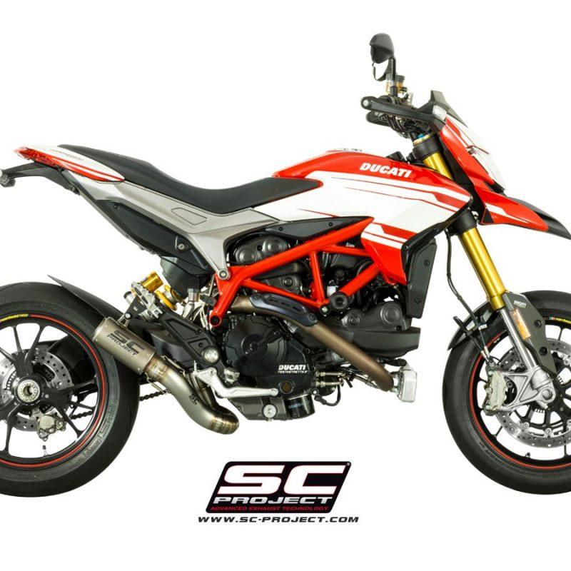 SC Project Exhaust Ducati Hypermotard 939 / SP CR-T 2-1 Silencer