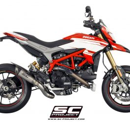 SC Project Exhaust Ducati Hypermotard 939 / SP S1 2-1 Silencer