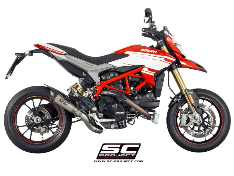 SC Project Exhaust Ducati Hypermotard 939 / SP S1 2-1 Silencer