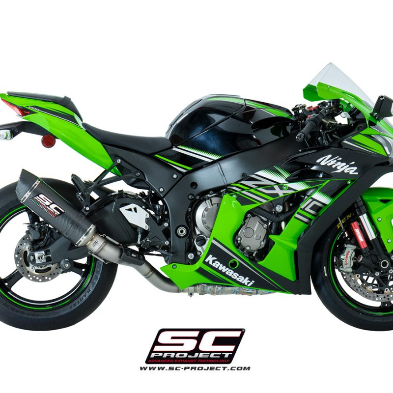 SC Project Exhaust Kawasaki Ninja ZX-10R Oval Silencer