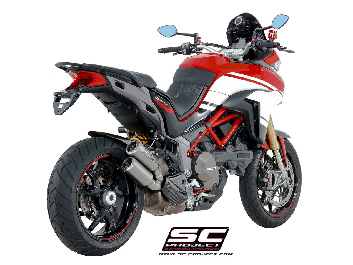 Ducati Multistrada  Exhaust By Sc Project