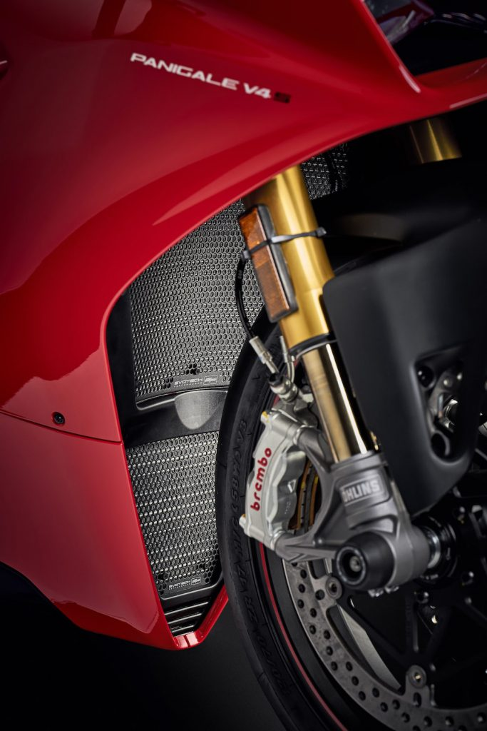 Evotech Performance Ducati Panigale V4 Radiator Guard Set 2018+