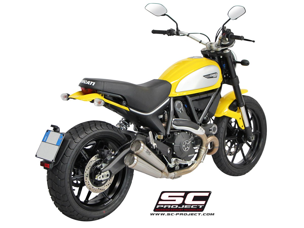 sc project exhaust ducati scrambler twin conic 39 70s silencers. Black Bedroom Furniture Sets. Home Design Ideas