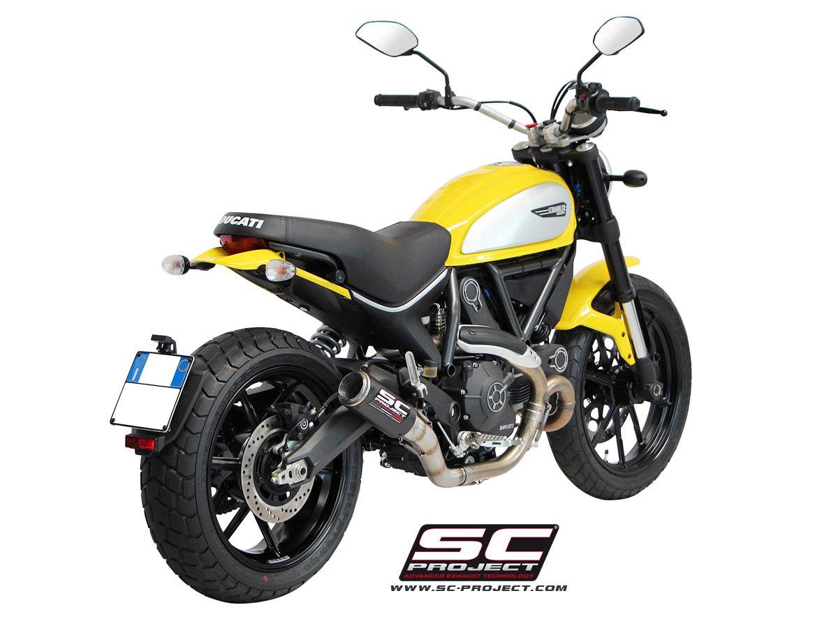 Ducati Scrambler Exhaust Sound