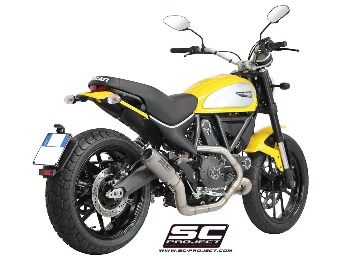 Ducati Sr Arrow Exhaust