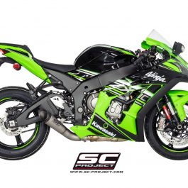 SC Project Exhaust Kawasaki Ninja ZX-10R S1 Silencer Low Position 2016+