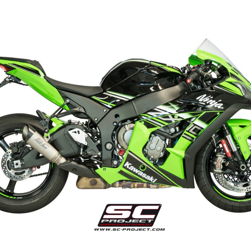 SC Project Exhaust Kawasaki Ninja ZX-10R S1 Silencer 2016+