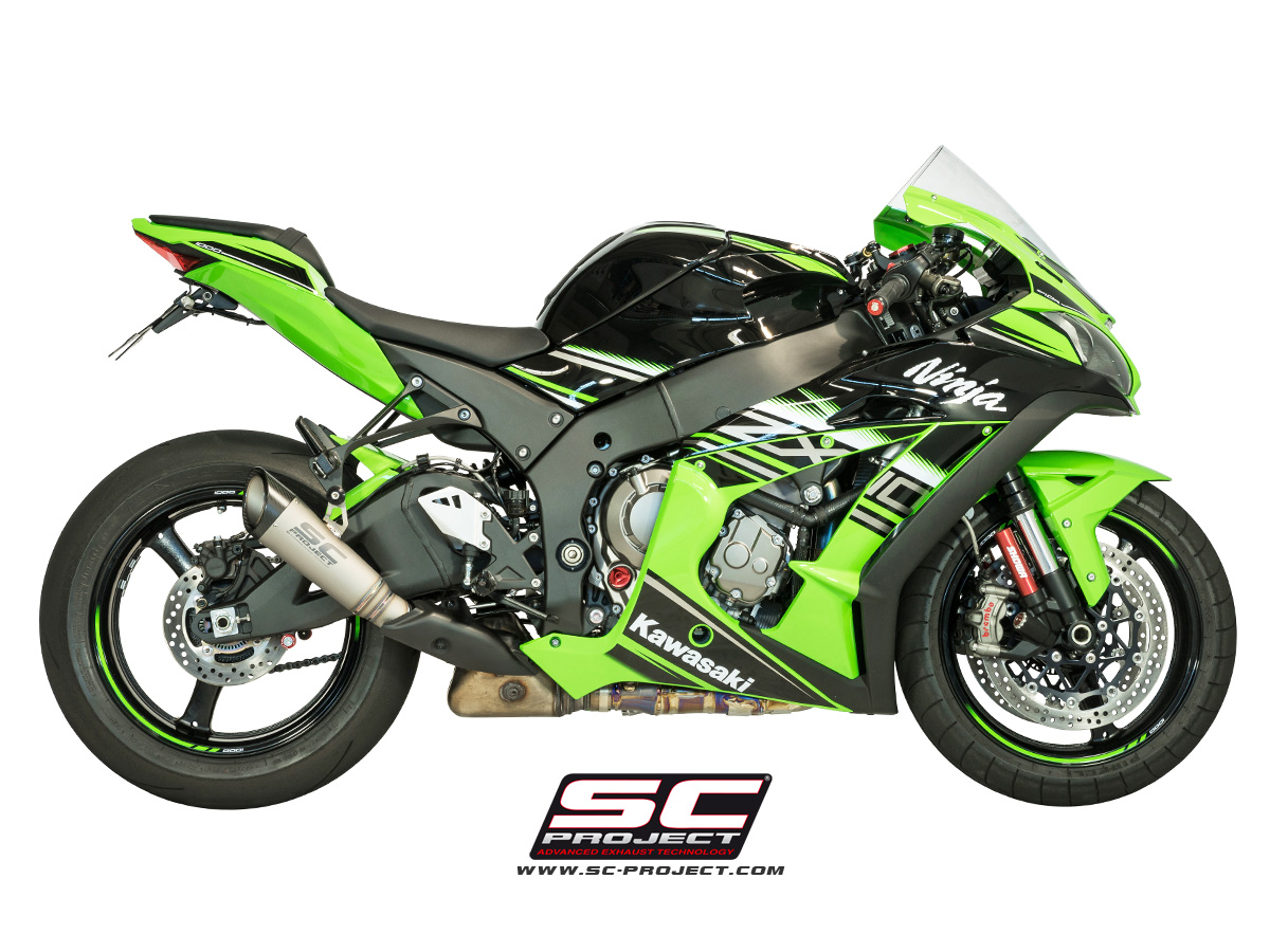 SC Project Exhaust Kawasaki Ninja ZX 10R S1 Silencer 2016