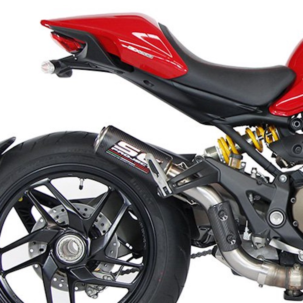 Ducati Monster R Sc Project Exhaust