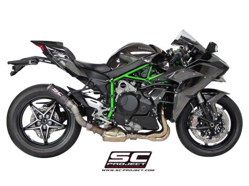 SC Project Exhaust Kawasaki Ninja H2 CR-T Silencer 2015+