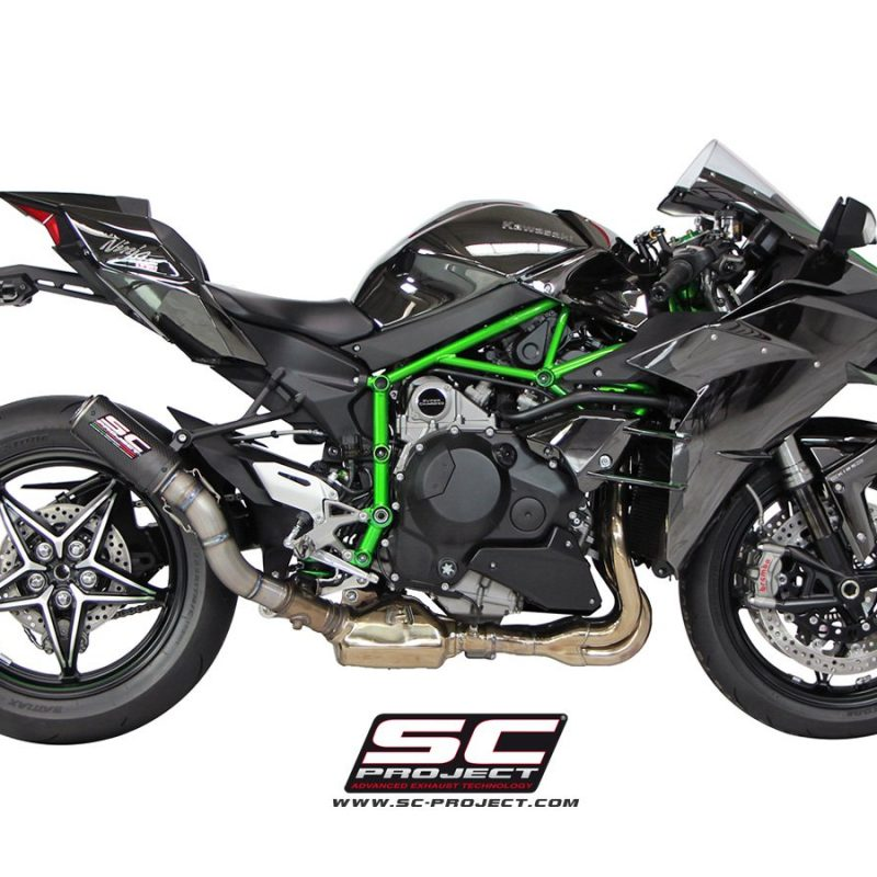 SC Project Exhaust Kawasaki Ninja H2 CR-T Silencer 2015+