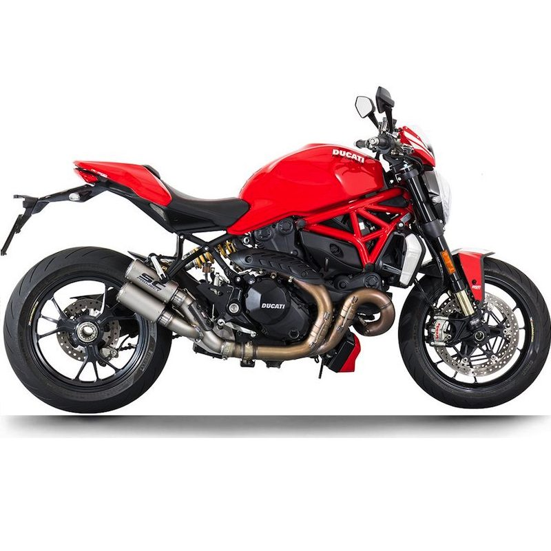 SC Project Exhausts Ducati Monster 1200 R