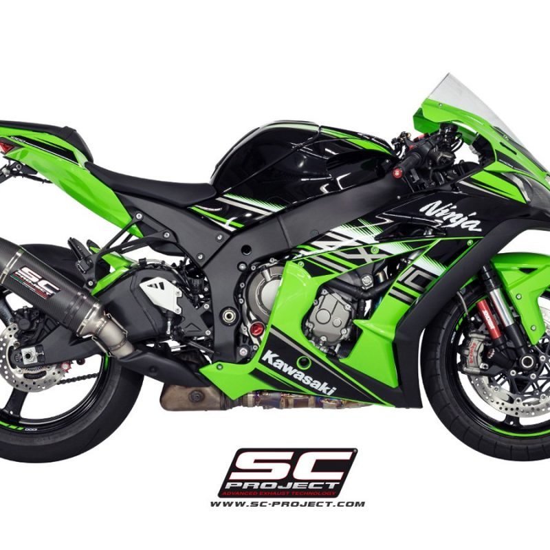 SC Project Exhaust Kawasaki Ninja ZX-10R Oval Silencer 2016+