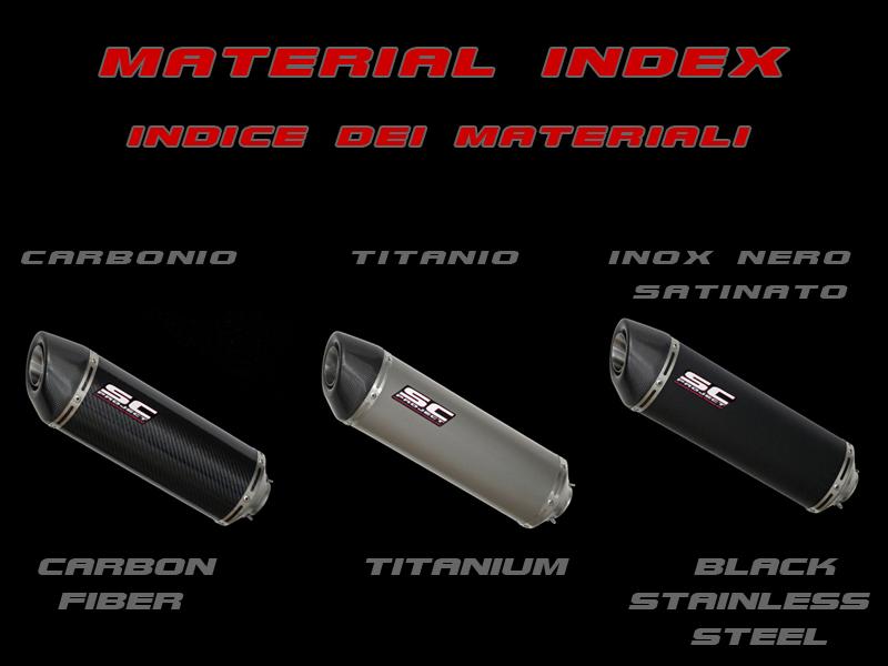 SC Project Exhaust Kawasaki Z1000 / SX Oval Silencers 2010 - 2013