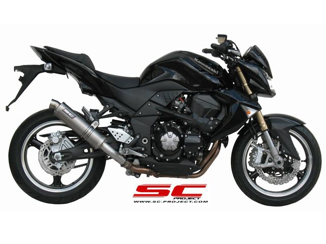 SC Project Exhaust Kawasaki Z1000 GP Silencers 2007 - 2009