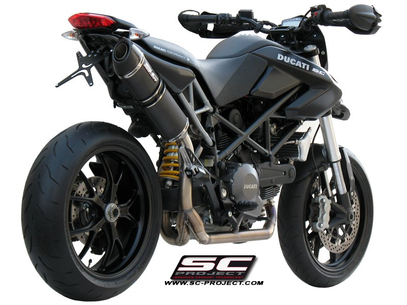 Sc Project Exhaust Ducati Hypermotard 796 Oval Silencer