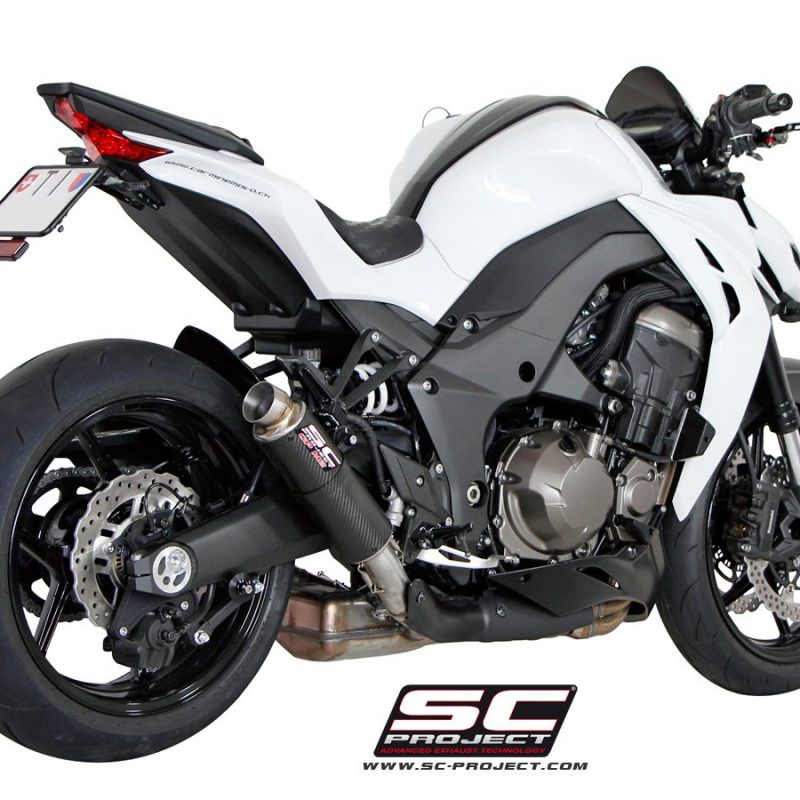 SC Project Exhaust Kawasaki Z1000 GP M2 Silencers 2014 - 2016