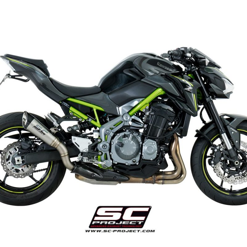 SC Project Exhaust Kawasaki Z900 S1 Silencer 2017+