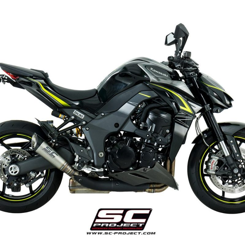 SC Project Exhaust Kawasaki Z1000 S1 Silencers 2017+