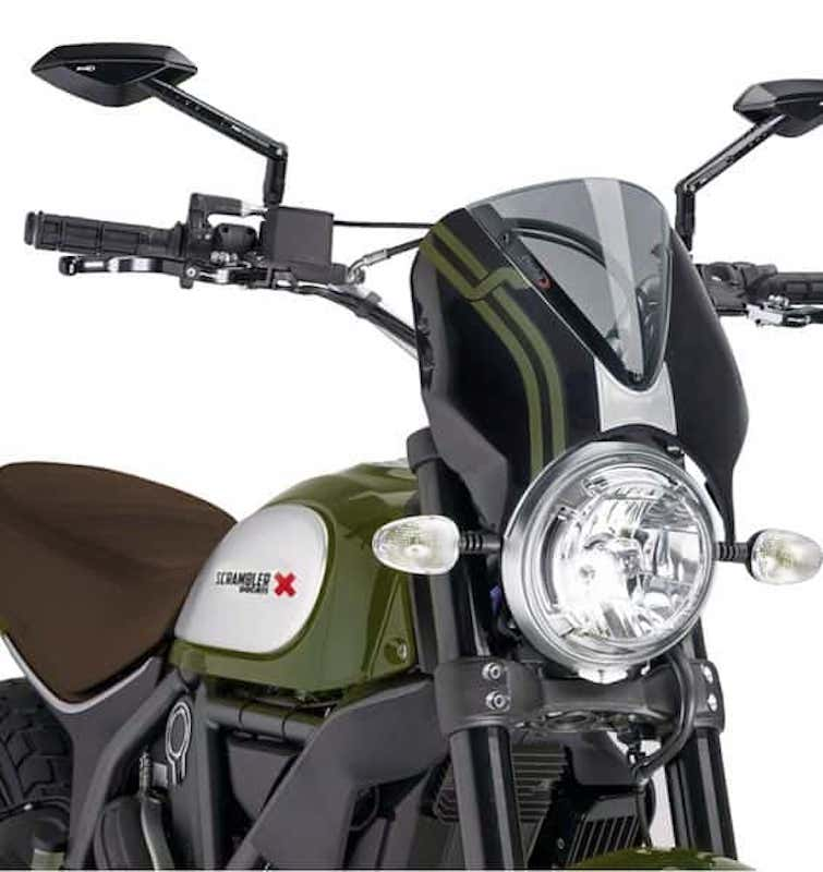 Puig Ducati Scrambler Retrovision Screen