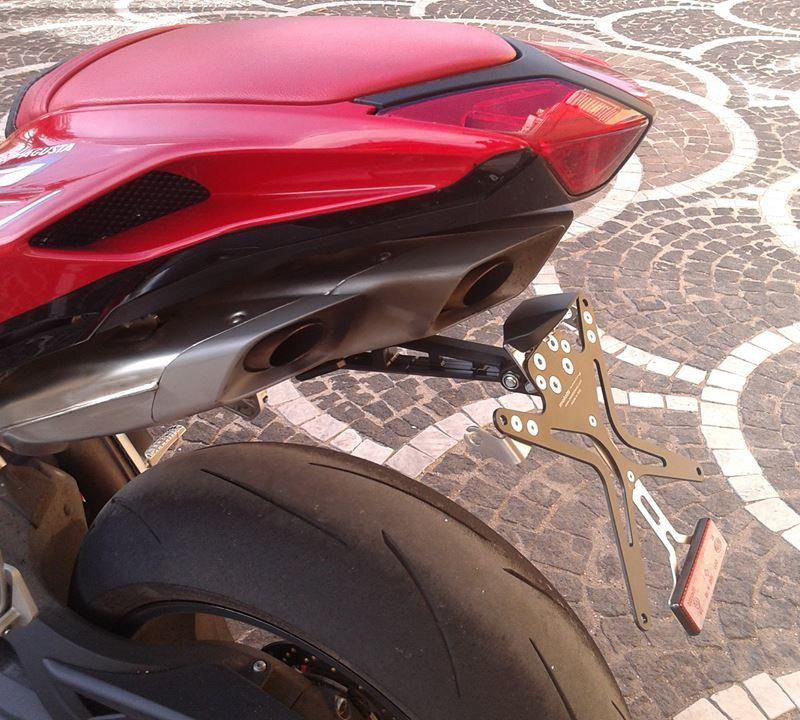 Melotti Racing MV Agusta F4 Number Plate Holder Tail Tidy