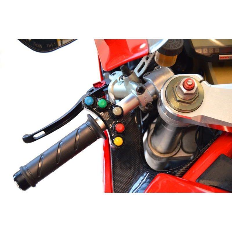 Ducabike Ducati 848 1098 1198 CNC Handlebar Switches Control Unit Road Version
