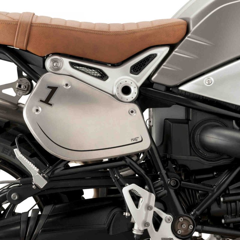 Puig BMW R Nine T Retro Aluminium Side Fairing Panels