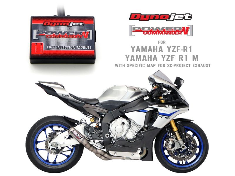 SC Project Exhaust Yamaha YZF R1 R1M Fuel Injection Module Power Commander V