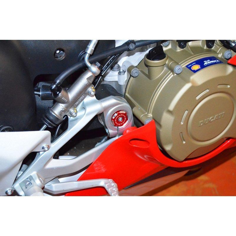 Ducabike Ducati Panigale V4 Lower Frame Caps Bi-Colour