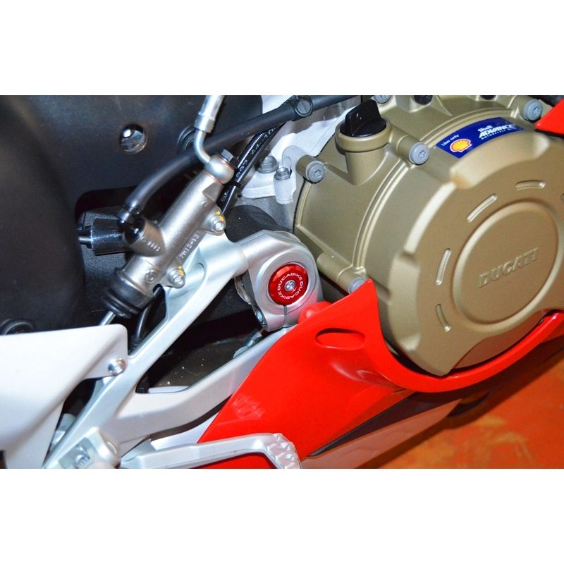 Ducabike Ducati Panigale V4 Lower Frame Caps Solid-Colour