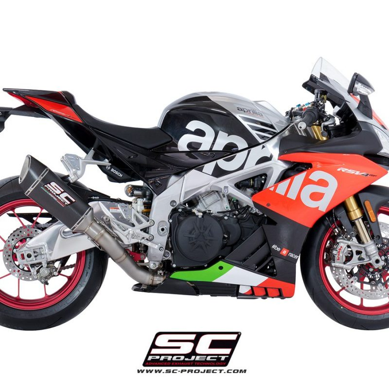 SC Project Exhaust Aprilia RSV4 RF RR SC1-R Silencer 2018+