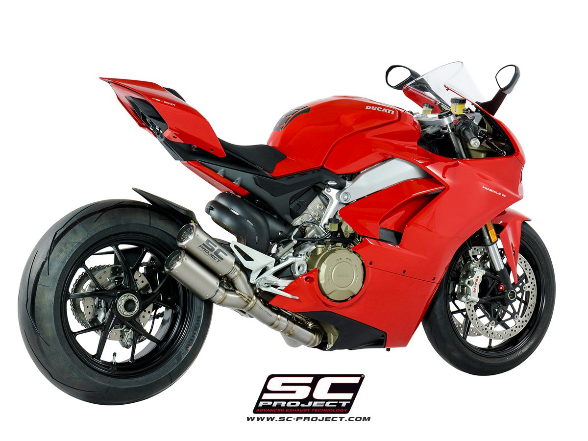 SC Project Exhaust Ducati Panigale V4 CR-T Full System 2-1-2