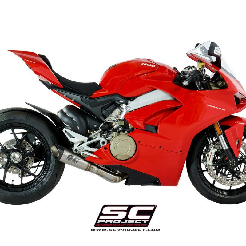 SC Project Exhaust Ducati Panigale V4 S1 Full System 2-1