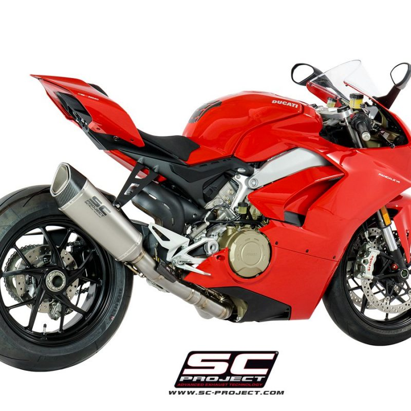 SC Project Exhaust Ducati Panigale V4 Full System SC1-R High Position
