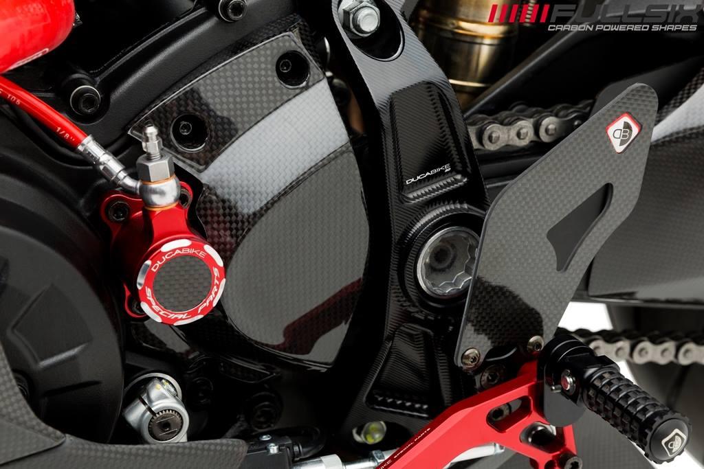 Fullsix Ducati Supersport 939 Carbon Fibre Sprocket Cover