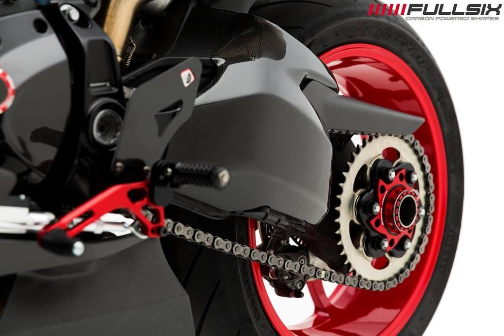 Fullsix Ducati Supersport 939 Carbon Fibre Swingarm Cover