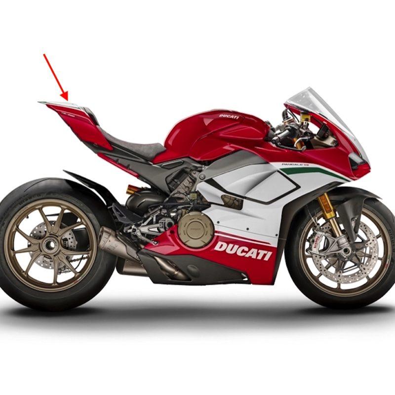 Fullsix Ducati Panigale V4 Carbon Fibre Mono Seat Tail Fairing