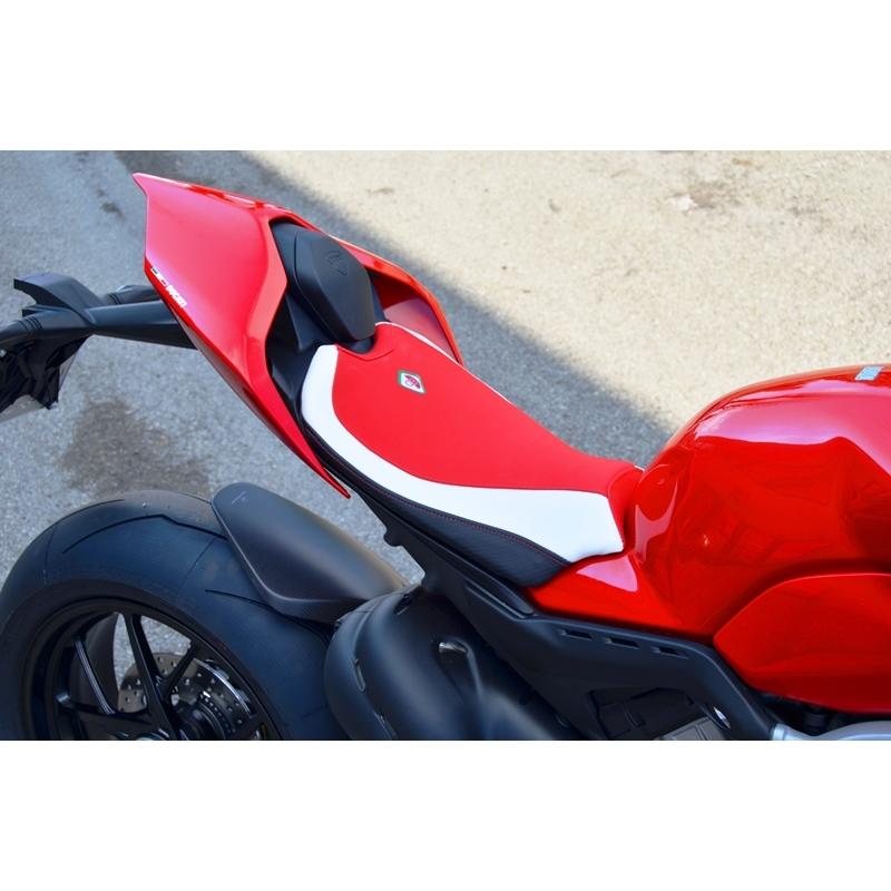 Ducabike Ducati Panigale V4 Rider Seat Cover Black Red White Ebay