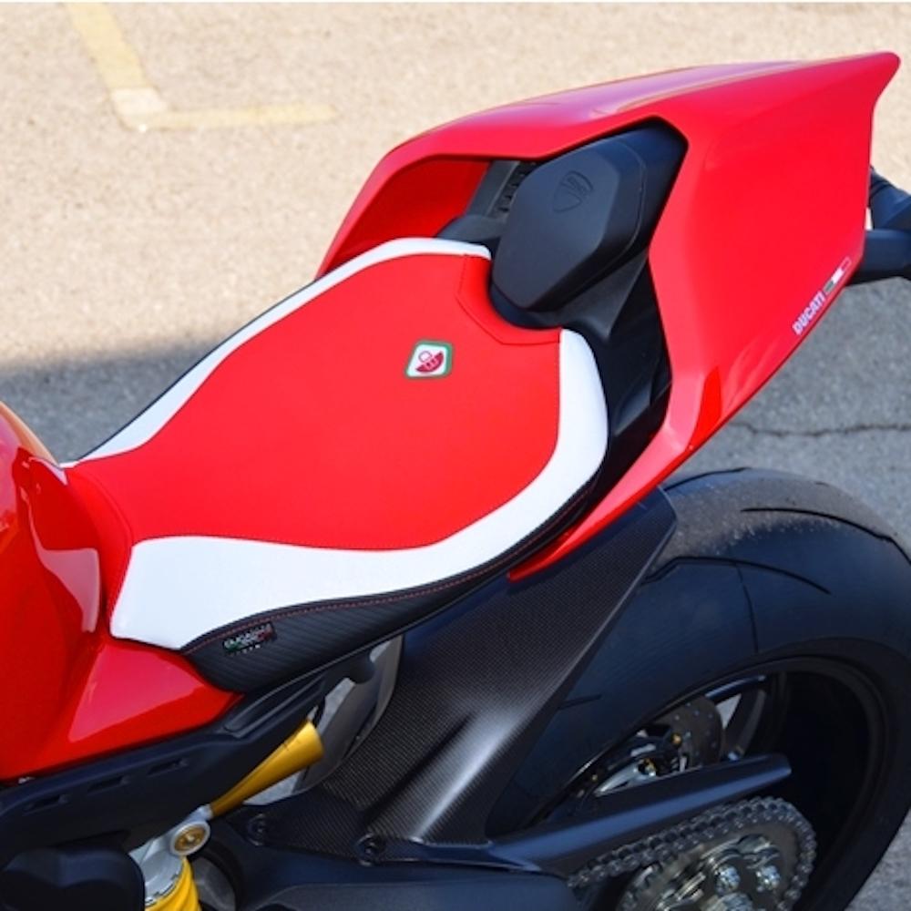 Ducabike Ducati Panigale V4 Rider Seat Cover Conquest