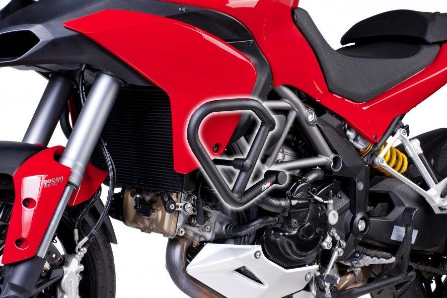 Puig Ducati Multistrada 1200 Engine Protection Crash Bars 2010-2014
