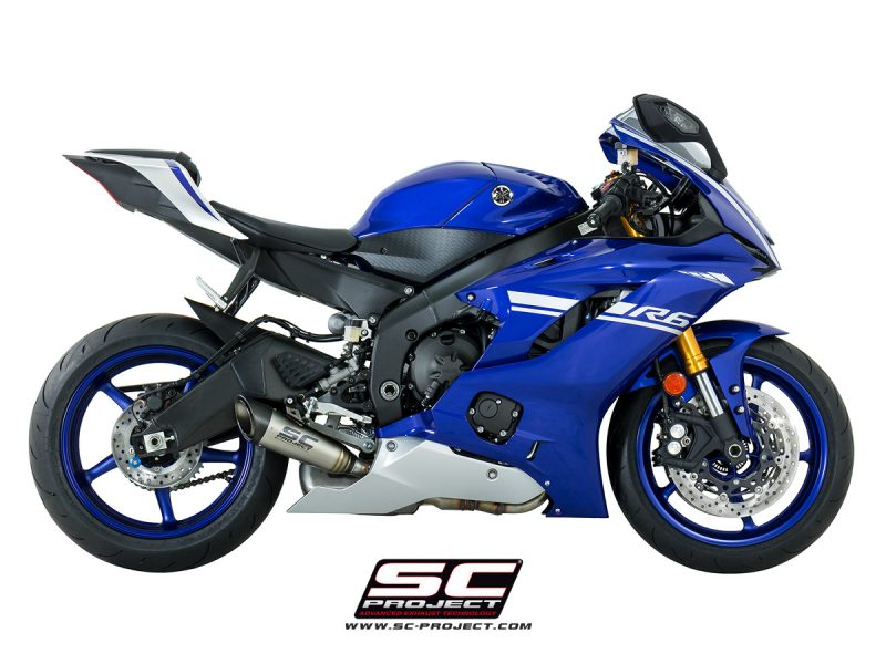 SC Project Exhaust Yamaha R6 S1 Silencer 2017+