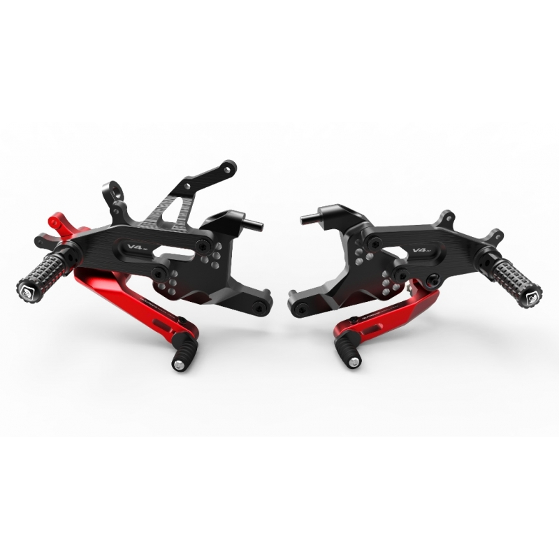 Ducabike Ducati Panigale V4 CNC SBK Adjustable Rearsets