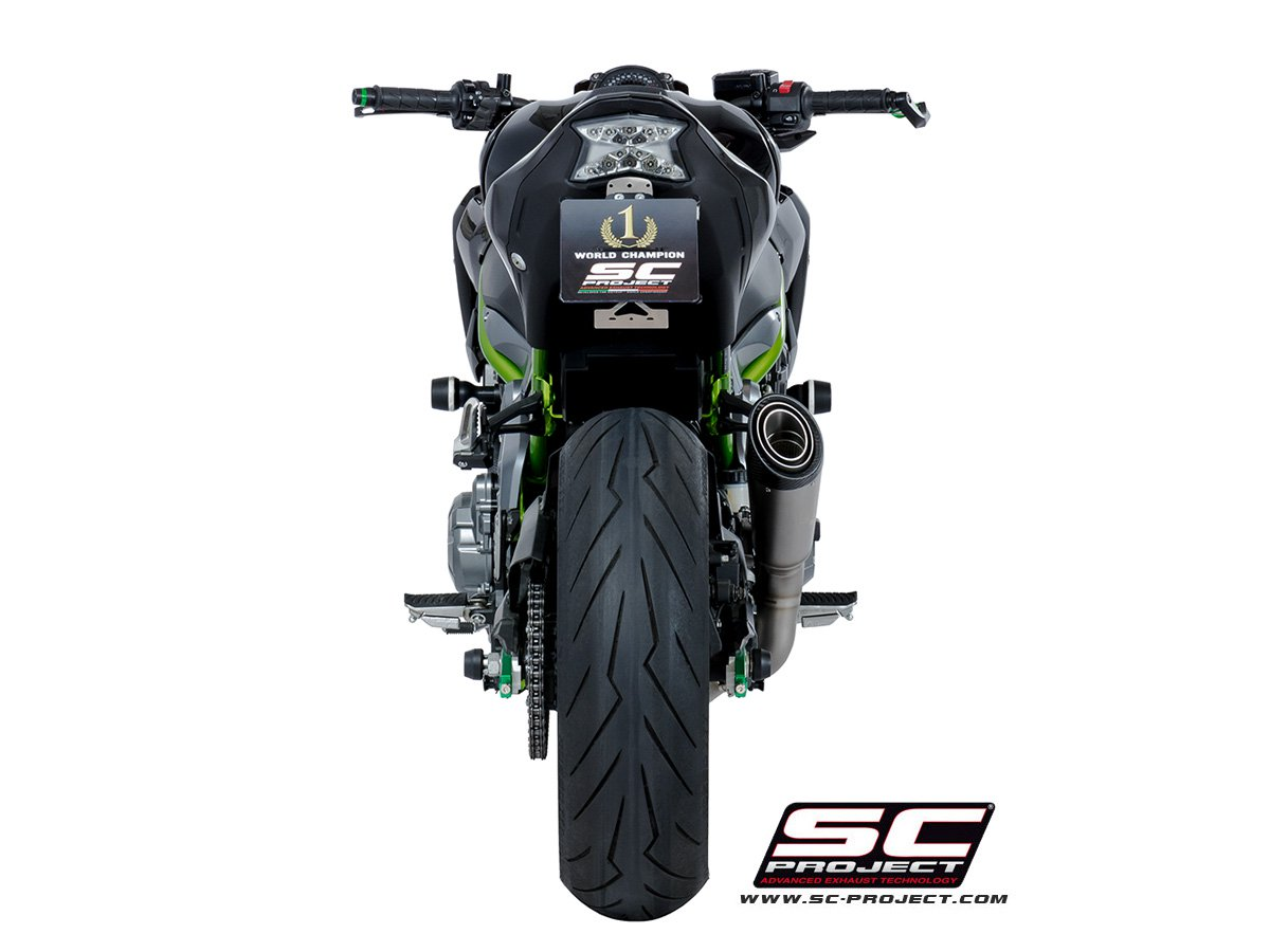 SC Project Exhaust Kawasaki Z900 Full System Exhaust 4-2-1